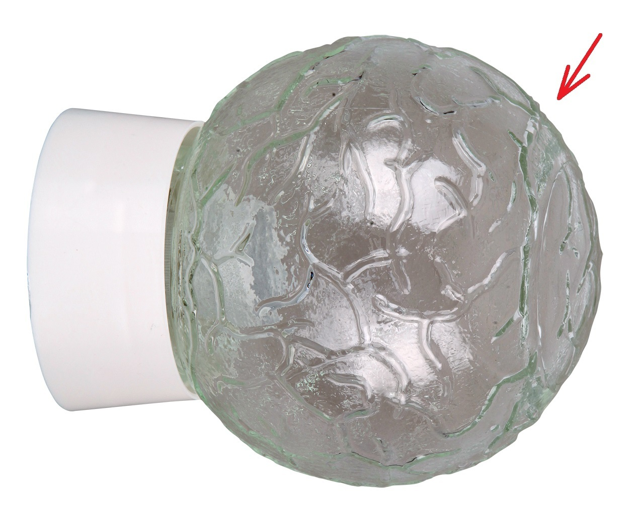 lampenschirm kugel aus glas f r e 14 27 durchmesser 14 cm grace. Black Bedroom Furniture Sets. Home Design Ideas