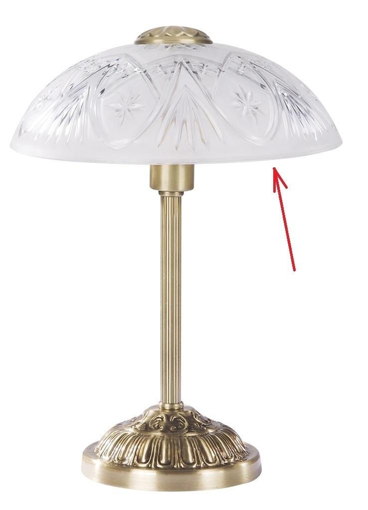 lampenschirm aus glas f r e 27 durchmesser 30 cm annabella. Black Bedroom Furniture Sets. Home Design Ideas