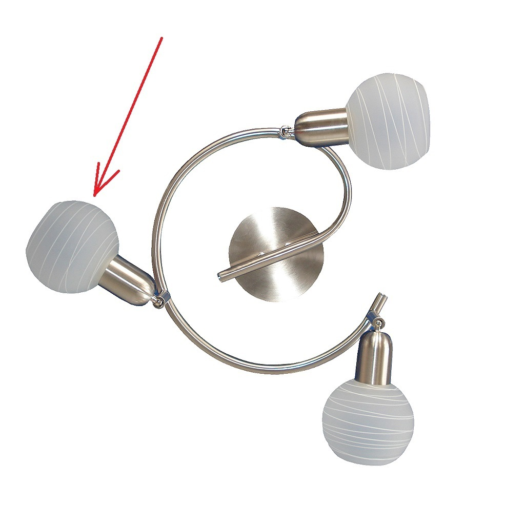 lampenschirm aus glas f r e 14 durchmesser 9 cm aurel. Black Bedroom Furniture Sets. Home Design Ideas